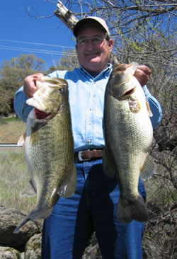 Clear lake fishing guide april newsletter for Clear lake fishing